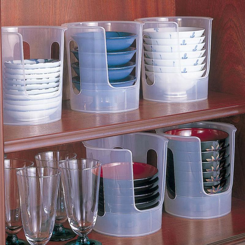 日本进口碗架沥水架塑料置物架碗柜晾放碗碟盘收纳用具厨房用品