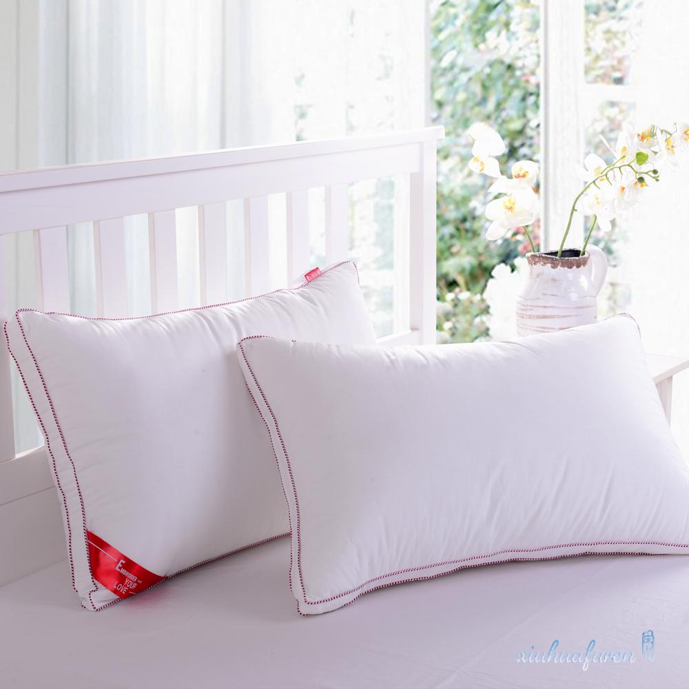 单人绣花枕头