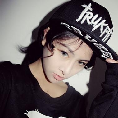包邮韩版男女式棒球帽hiphop街舞嘻哈帽子鸭舌帽滑板平沿帽逛街潮