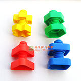 Screw nut shape matching 1-2-3 years old baby early education Montessori teaching aids Children's educational intelligence toys
