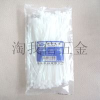 Shuangyang plastic cable ties 5*400mm GB width foot 5mm Self-locking plastic nylon cable ties wholesale white