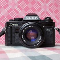 95新 MINOLTA美能达X700+MD50/1.7套机 135胶片单反相机 送收纳袋