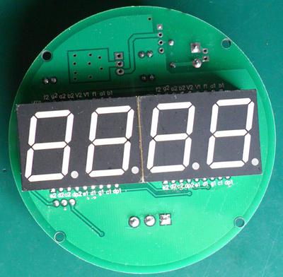 PT100温度表头(0.8寸数码管显示DC24工作电源)图片