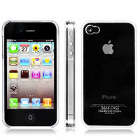 Original Apple iphone4 iphone4S mobile phone case mobile phone case ultra-thin transparent bare case protective cover