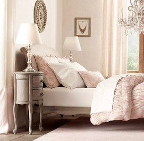 法式整装无门仿古象牙床头柜美式白色做旧全实木圆角柜边几特惠