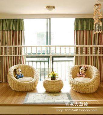 田园阳台沙发