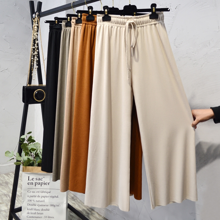 系带裤子女休闲裤