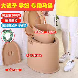 加大号儿童坐便器女宝宝 孕妇小孩老人马桶座便器便携男便盆尿盆
