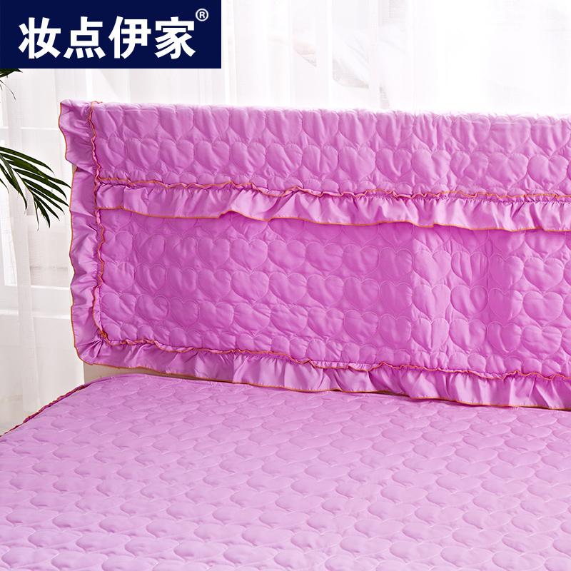 防滑夹棉床头罩