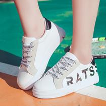 夏季新款韩版潮尖头女士黑色高跟鞋中跟粗跟职业单鞋工作女皮鞋