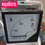 Yutai Mechanical Pointer AC Current Meter 6L2-A Direct-through and Transformer 80*80 Opening 76*76
