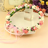 Korean garland crown bride photo tiara headband bracelet seaside children Liuyi dance performance headband photography