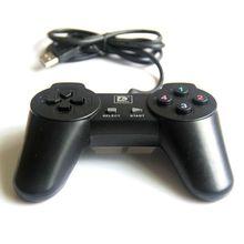 电脑单打游戏手柄 USB接口街机式操控制杆 中性彩包PU201