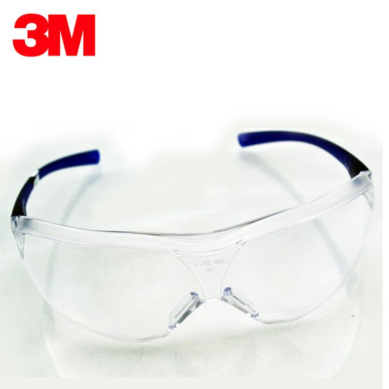 正品3M10437防刮擦防护眼镜透明镜片防冲击防雾骑行防风沙护目镜3元优惠券