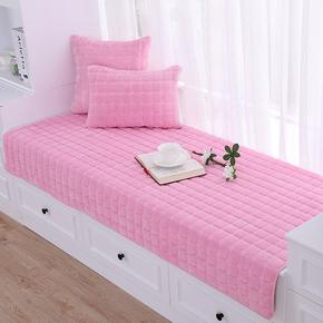 飘窗垫窗台垫订定做客厅卧室欧式田园毛绒防滑榻榻米垫子阳台垫厚