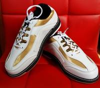 BEL bowling supplies, professional bowling shoes, men and women, imported soft fiber, super comfortable white gold