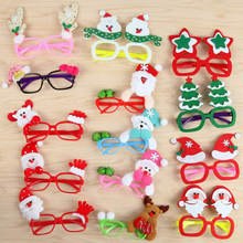 Christmas Glasses Frame Children's Projects Christmas Decorations Gifts Small Gifts Wholesale Supplies Cute Cartoon Glasses