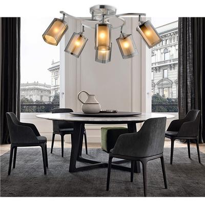 北欧简约吸顶灯客厅卧室led节能灯宜家现代创意个性铝制吊顶灯具