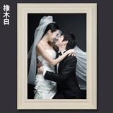 岱岳欧式婚纱相框挂墙16 24 36寸影楼结婚照放大像框挂墙画框定做