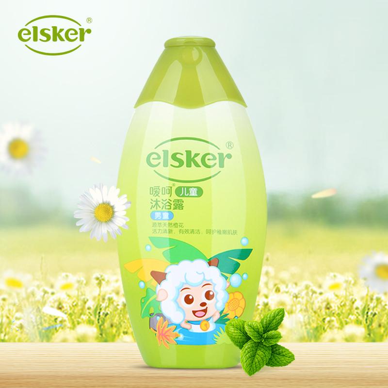 嗳呵儿童沐浴露240ml 男童 新生儿宝宝保湿润肤温和全身沐浴乳