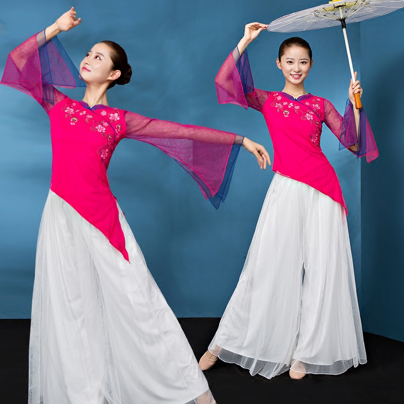 Square dance dance costume female 2018 new summer adult suit Chinese style ancient