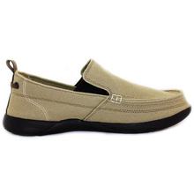 安升912款 一脚蹬男鞋帆布鞋懒人鞋男休闲鞋舒适透气老北京布鞋
