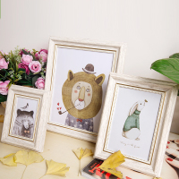 复古风美欧式婚纱相框创意5 6 7 8 10 16寸8K16KA3A4画框摆台挂墙