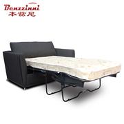 本兹尼#SB017 澳洲单人沙发床带床垫0.9m 书房日韩式小型沙发床