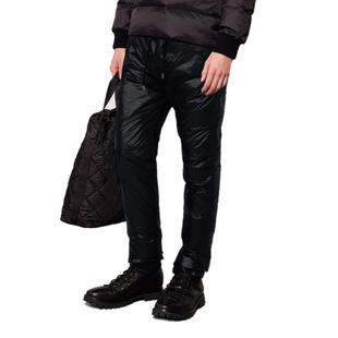新款男羽绒裤时尚外穿商务休闲保暖白鸭绒流行英伦男裤高腰有型