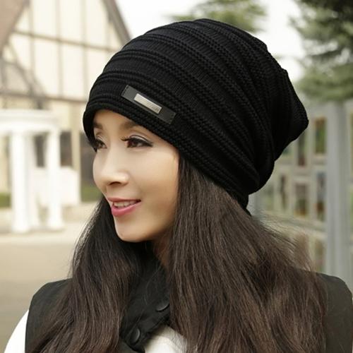 帽子女秋冬天韩版潮新款时尚韩国休闲百搭保暖女士冬季针织毛线帽