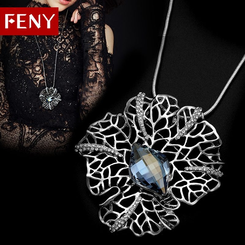 FENY简约大气质人造水晶胸花女胸针 日韩国版外套开衫别针配饰品