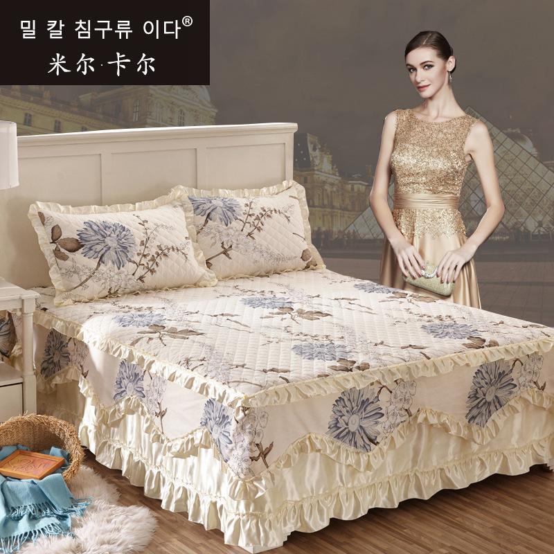 婚庆加棉床裙