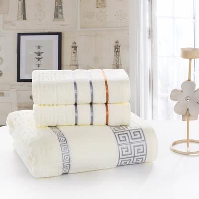 毛巾浴巾三件套浴巾礼盒浴巾毛巾组合套装套巾浴巾纯棉商务礼品装