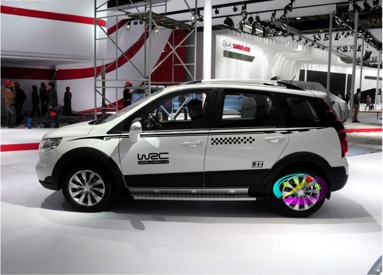 包郵東風風行景逸X5/X3車貼拉花 SUV專用改裝飾貼紙車身腰線彩條