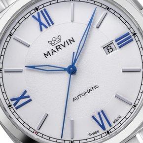 瑞士Marvin摩纹莫尔顿枕型自动机械男士手表M119.13.23.11