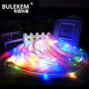 布雷科曼太阳能灯户外庭院景观草坪灯装饰管子灯水底灯管彩灯串