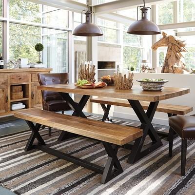 木餐桌长凳年中大促