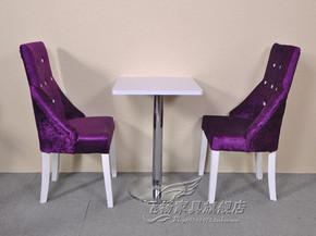 欧式酒店椅 高背软包椅 化妆美甲椅 休闲咖啡厅甜品店餐椅餐厅椅