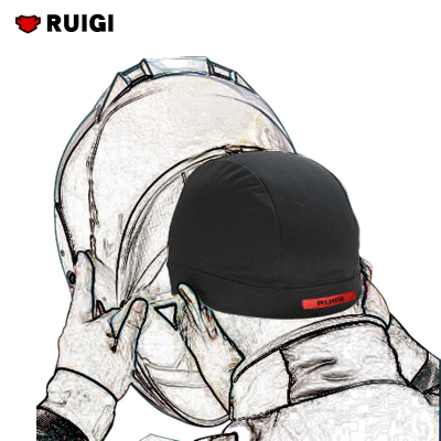 RUIGI摩托车头罩头盔内衬头套吸汗排湿保持头盔干爽四季男女