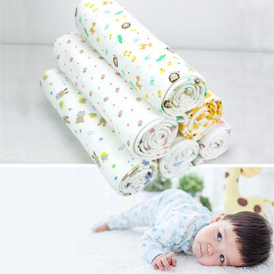 纯棉布料 宝宝婴儿a类衣服面料儿童卡通花布针织棉全棉 棉布布料