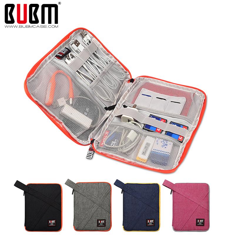 bubm 数据线数码收纳包充电器宝耳机整理袋旅行小配件便携手机U盘移动硬盘笔记本电源电子产品平板保护套图片