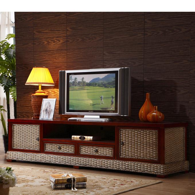 植物藤电视柜