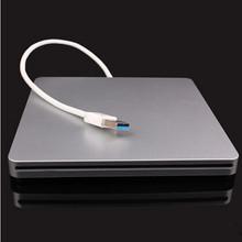 吸入式移动光驱MAC笔记本PC机外挂光驱 外置USB3.0DVD刻录机苹果款
