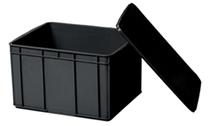 长方形塑料周转物流箱浅盘冷冻盘零件五金工具盒加厚方盘配件胶箱