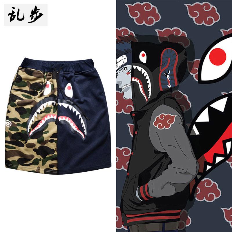 男鲨鱼裤子