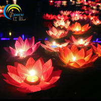 Spring Festival Lotus Lantern Romantic Kongming Lantern Wishing Lamp Love Lotus Lamp Prayer River Light Creative Safety Thickening