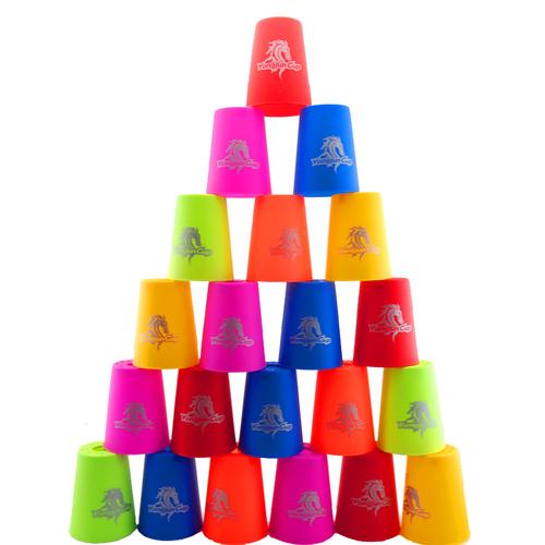 永骏儿童桌面游戏 手脑协调训练玩具 飞叠杯 比赛用速叠杯
