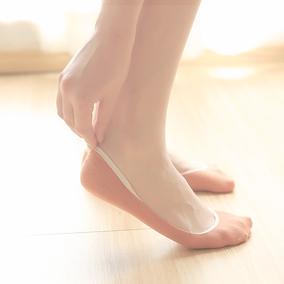 船袜女纯棉浅口硅胶防滑隐形袜子女士短袜春夏季薄款脚底袜春秋款
