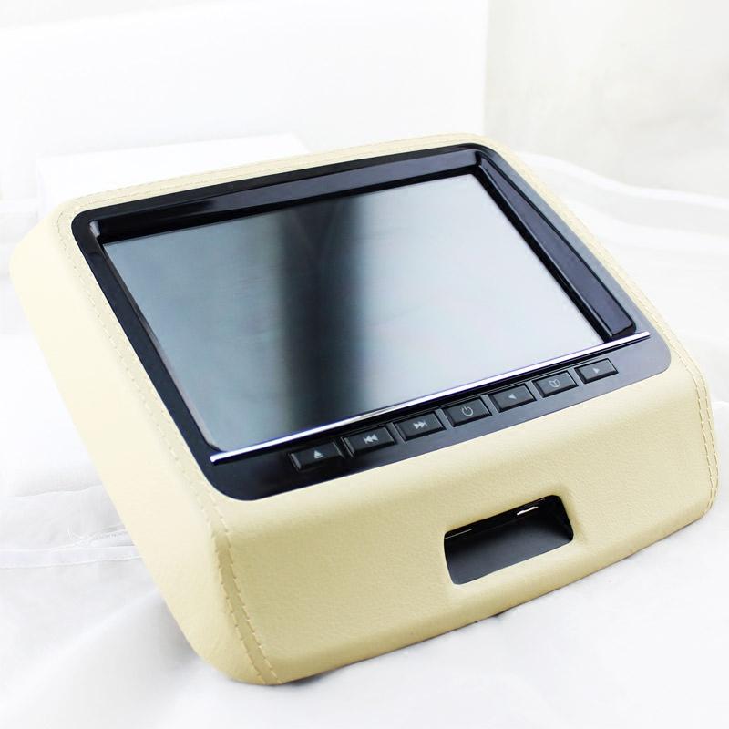 车载DVD头枕显示器 汽车高清外挂式后排座影音娱乐9寸液晶触摸屏