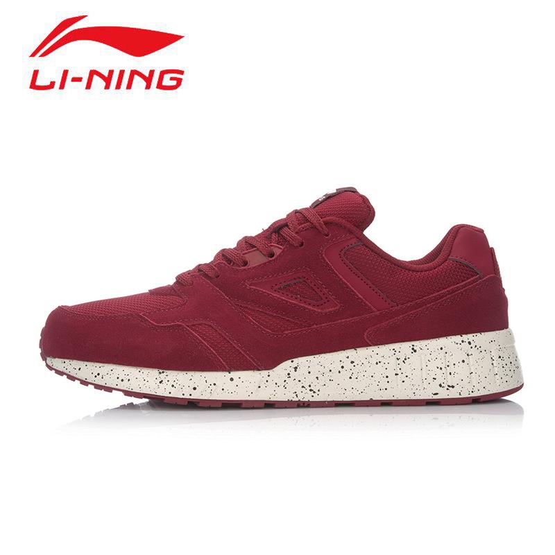 李宁休闲鞋男鞋秋季学生运动时尚系列复古跑步鞋板鞋轻便运动鞋